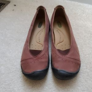 Keen Brown flats/loafers
